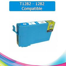 TINTA CIAN T1282 1282 COMPATIBLE PARA IMPRESORAS NONOEM EPSON CARTUCHO AZUL