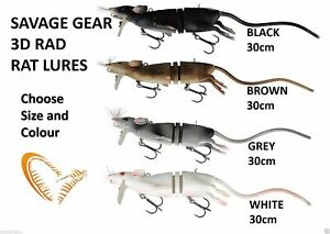 Savage Gear 3D Rad rats 20cm and 30cm and maintenance kits  crazy price