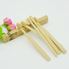 Eco-friendly Bamboo Toothbrush Ecological Biodegradable Handle Soft Oral Brush
