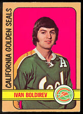 1972 73 OPC O PEE CHEE #41 IVAN BOLDIREV RC NM CALIFORNIA GOLDEN SEALS ROOKIE