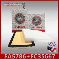 FA5786 FC35667 49310 24488 ENGINE & CABIN AIR FILTER: 2012-2017 CAMRY HYBRID 2.5