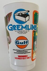 Rare - 1984 Gremlins Promo Cup - Released by Gulf Canada / 7 Up - New never used