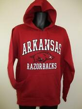 New Arkansas Razorbacks Adult Mens Size M Medium Red Hoodie