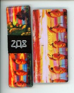 Medium ZOX Silver Strap GO BEYOND Wristband with Card Reversible