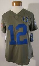Nike NFL Indianapolis Colts Andrew Luck  12 Salute Women s Jersey LRG  882747 235 4eaa1ebfd