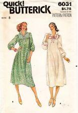 1970's VTG Butterick Misses' Dress Pattern 6031 Size 8 UNCUT