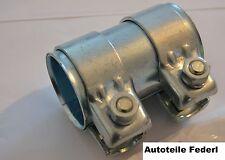 Rohrverbinder/Doppelschelle 52mm x 95mm, Audi TT 1.8, VW Golf 4 GTI, Ford