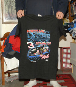 Dale Earndardt Virtual Intimidator T shirt Mint XL NASCAR Winston Cup 1997 rare