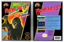 Friday the 13th - Nintendo NES Custom Case *NO GAME*