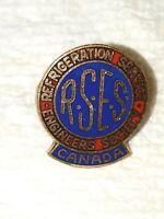 Vintage REFRIGERATION SERVICE ENGINEERS SOCIETY RSES lapel  PIN RARE