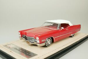 Cadillac Deville Convertible 1968 Red #136 From Only 199 1/43 Stamp STM68702