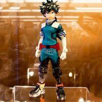 25cm Anime My Hero Academia Figure PVC Age of Heroes Figurine Deku Action Model