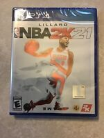 NBA 2K21 (Sony PlayStation 4) PS4 Brand New Factory Sealed Free Ship