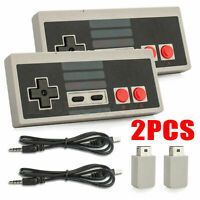 2*Wireless Game Controller Gamepad für  Mini NES Classic Edition Konsole