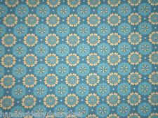 Marcus Brothers Meridian Mix 9570-0122 Laura Berringer Cotton Fabric Turquoise