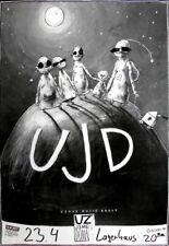 UZ JSME DOMA - 1992 - Konzertplakat - Czech Experimental - Tourposter - Bremen