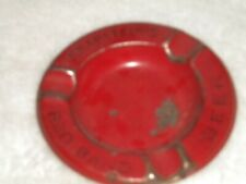 Knapstein Brewing Co. Red Band Beer Metal Ashtray