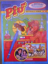PIU e il suo Gioco n°10 1982  Ed. Domus  [G416]