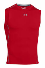 Under armour HeatGear Sleeveless Vest, Size L - Red