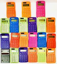 Lot of 21 Student BASIC SOLAR POWERED CALCULATORS Teacher Supplies Math Science