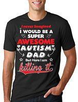 Autism T-shirt Autism awareness t-shirt Autism Dad T-shirt