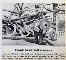 Original 1967 Handy Farmer Ad Dean McOmber Van Wert County OH CORREST SIDE DRAFT