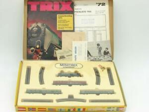 Minitrix Trix N Gauge DB Passenger Set in Original Box #1903 Runs