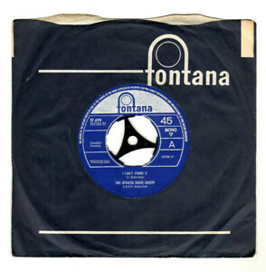 """SPENCER DAVIS GROUP.I CAN'T STAND IT / MIDNIGHT TRAIN.UK ORIG 1964 7"""" & CO/SL.VG"""