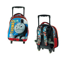 3D Trolley Bag Thomas The Train Tank Engine Kids Toddler Kindergarten Ages