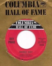 RAY PRICE * 45 * Danny Boy / I'm Still Not Over You Yet * NM ! * COLUMBIA * RI