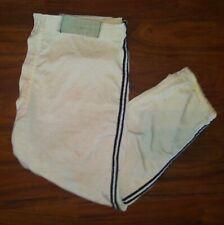 Vintage 1950s 1960s Empire Baseball Uniform Pants Black Striped Union Made Usa