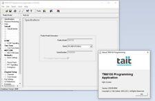 TAIT Programming Software for TM8100 v3.09.00 CPS