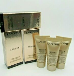 Lancome Absolue Soft Cream travel sized Lot of 3 0.16 fl oz/5ml each