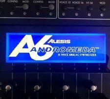 Alesis Andromeda A6 Custom LED Display !