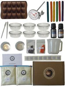 Mega Wax Melt Making Kit ~ Huge Starter DIY Candle Kits 1Kg Soy - UK Seller