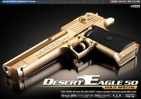 Academy Desert Eagle 50 Gold Special 17223 Airsoft Pistol BB Power Gun 6mm Toy