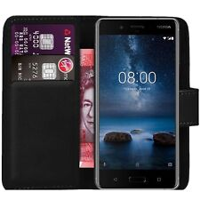Case Cover For Nokia 5.1 Plus 2018 x5 Magnetic Flip Leather Wallet Phone book