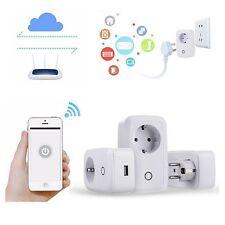 Wifi Mobile Cell Phone Wireless Remote Control Timer Smart Power Socket EU Plug