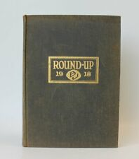1918 Baylor University Round-Up Yearbook/Annual BU Bears Football Homecoming
