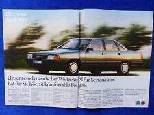 Audi 100 C3 - Werbeanzeige Reklame Advertisement 1982 __ (343