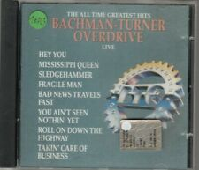 BACHMAN TURNER OVERDRIVE - the all time greatest hits live CD