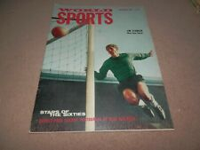 World Sports Magazine November 1965 Jim Standen Mike Hailwood