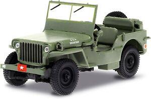 Model Car Willys 1942 MB Jeep 8cm 1/43 AMC Mash Diecast GREENLIGHT