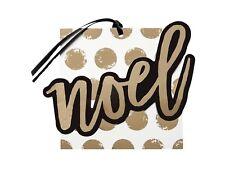 New ! 4 X 6 counts Noel Premium Gift Tag Set - Wondershop