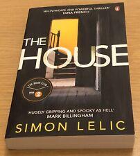 THE HOUSE Simon Lelic Book (Paperback)