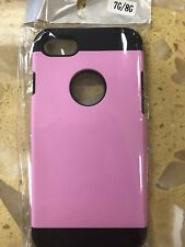 For iPhone 7/8 Case Shockproof Hybrid Hard Protective Case Cover (pink Color)