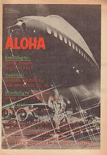 MAGAZINE ALOHA 1974 nr. 17 - TIMOTHY LEARY / VARIOUS COMICS
