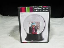 Photo Frame Water Globe ~Shipped Without Water ~ NIB