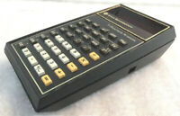 Texas Instruments Red LED Financial Calculator TI Business Analyst VINTAGE MINT