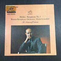 Mahler Symphony No. 1 Boston Symphony Orch. Erich Leinsdorf 2462 VG+ Vinyl LP R9